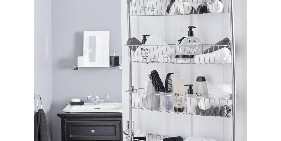 Bathroom Door Storage Ideas