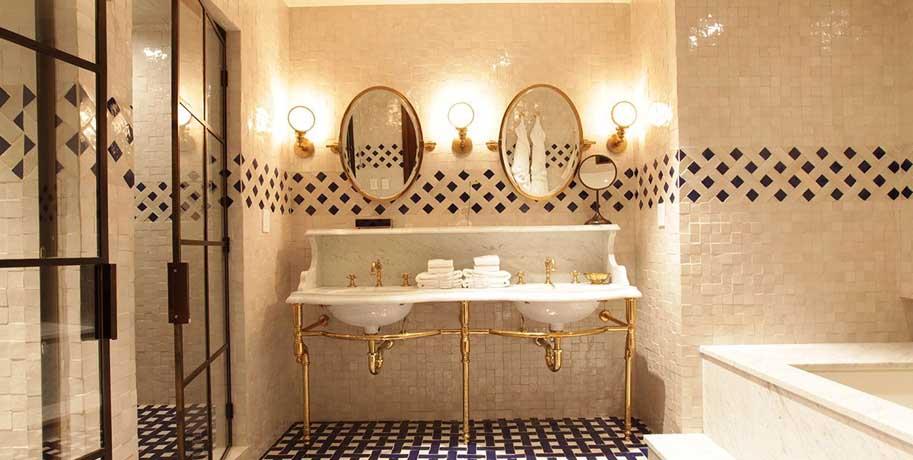 Brass Decoration Bathroom Inspiration