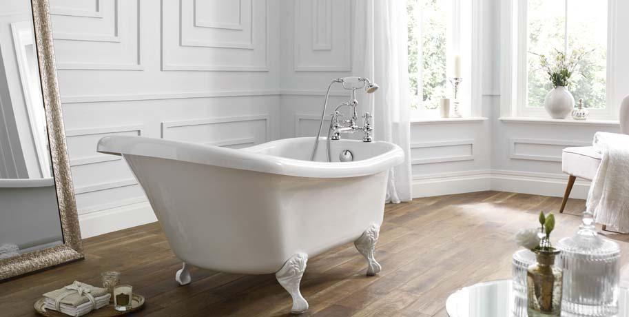 French Boudoir Bathroom Design