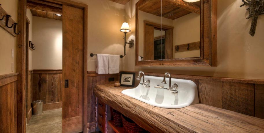 Rustic Style Bathroom Ideas