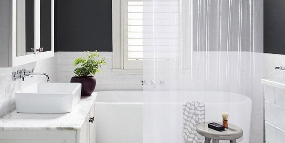 Shower Curtain Small Bathroom Ideas