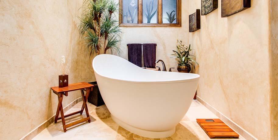 Tropical Style Bathroom Ideas