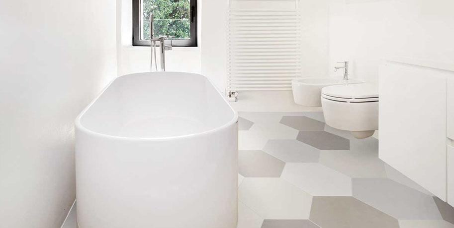 Water Absorption Bathroom Tiles