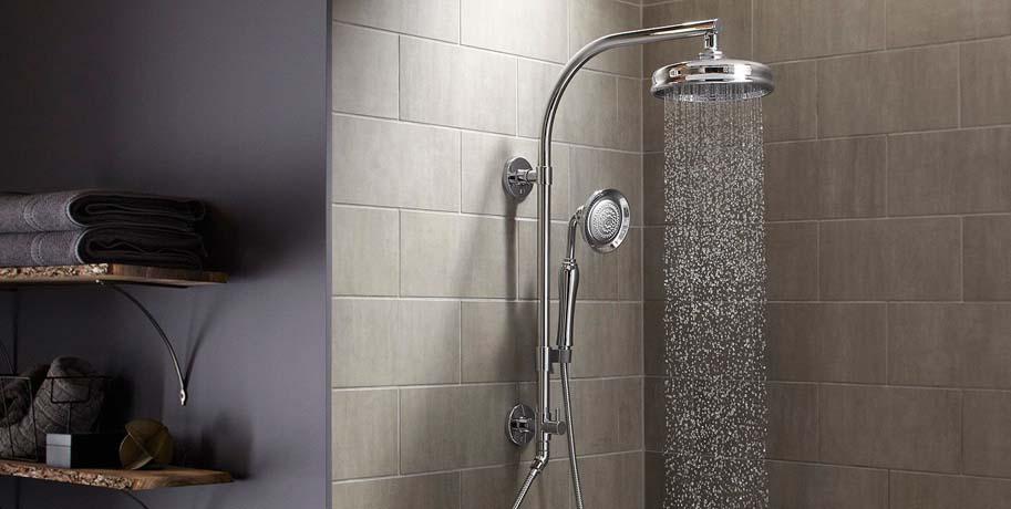 Waterfall Shower Bathroom Ideas